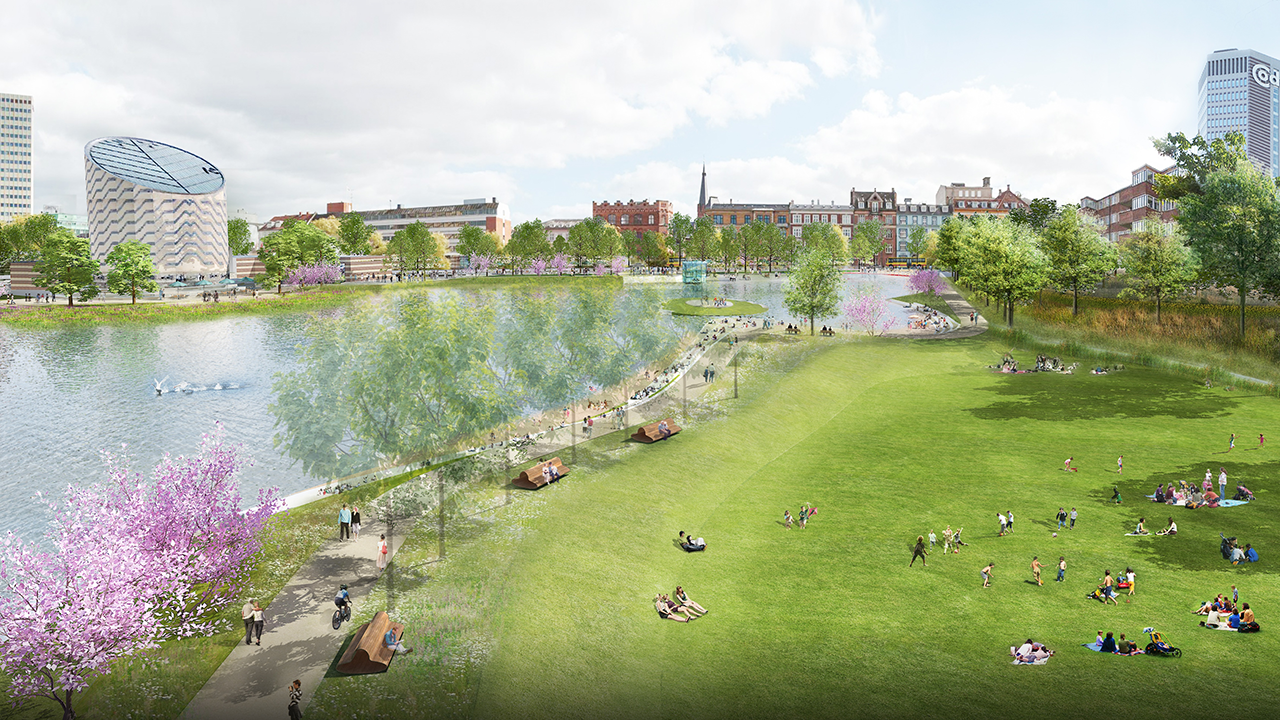 Ramboll has created a 'Cloudburst Concretization Masterplan' for Copenhagen