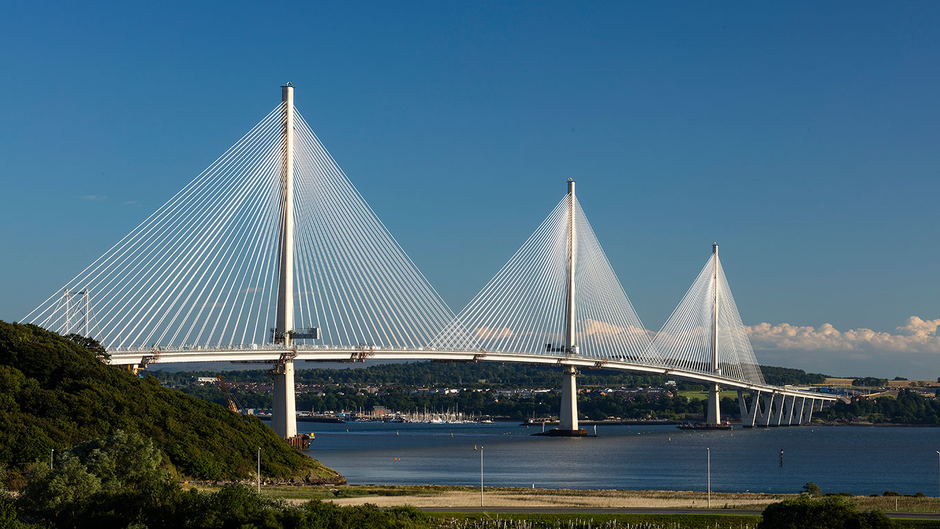 Queensferry Crossing-broen i Skotland